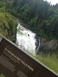 Tras el deshielo, las cataratas de Snoqualmie Park están en pleno apogeo