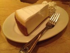 Y de postre, la mejor tarta de queso del mundo (después de la de la madre, of course)